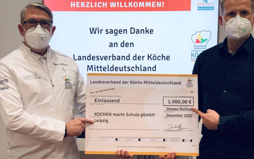 Ein herzliches Dankeschön an den Landesverband der Köche Mitteldeutschland …